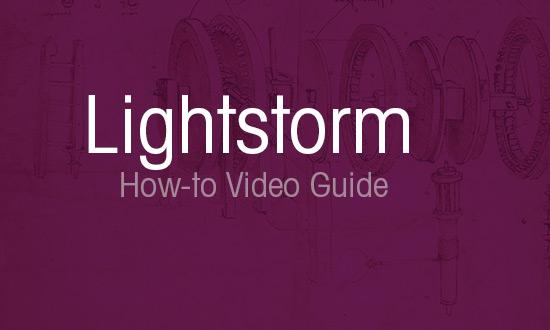 Lightstorm App Guide