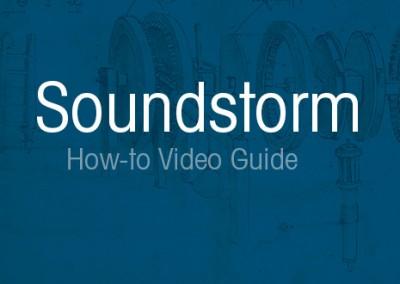SoundStorm App Guide